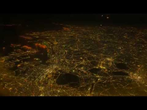 【4K】� 田空港離陸と東京の夜景 Haneda Airport and TOKYO night view