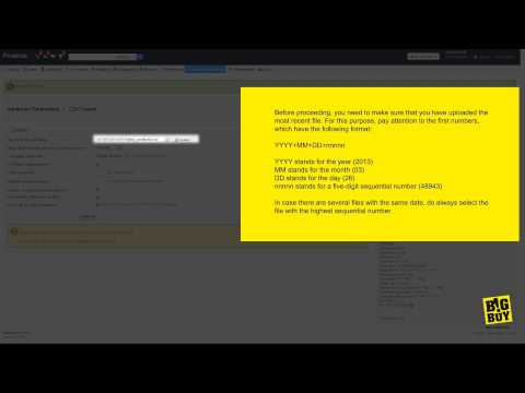 CSV Import Tutorial by BigBuy Prestashop 1.5  [ENG]