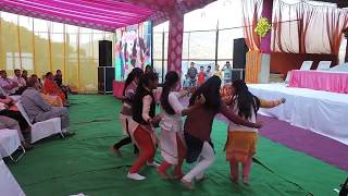 GIRLS PERFORM NAATI ON PAHADI SONG AT SHOLI VILLAGE IN RURAL CONCLAVE