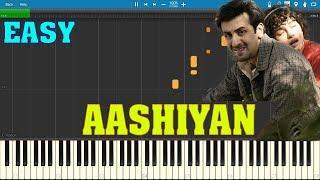 Barfi - Aashiyan - EASY Piano Tutorial by Suraj Khanna