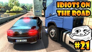 ★ IDIOTS on the road #21 - ETS2MP | Funny moments - Euro Truck Simulator 2 Multiplayer