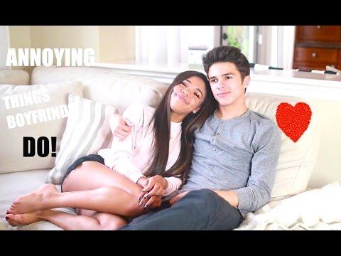 Annoying things boyfriends do!!