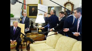 Trump Kicks Reporter Out Of Oval Office