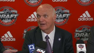 Lamoriello happy to add size and strength with draft