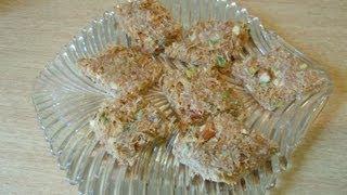 Shemai (Sweet Vermicilli) Borfi recipe (Episode 20) - ruptushDiner The Online Bengali Cooking Show
