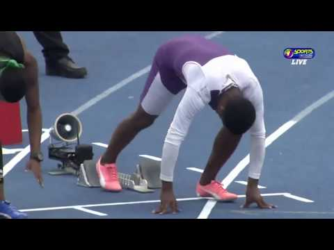 Xxx Mp4 14yo Jamaican Sprinter Breaks 110m Hurdles Record Class 2 Boys Final 3gp Sex