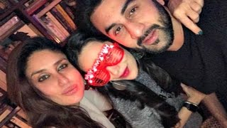 Kareena Kapoor New Year Party 2017 With Karishma Kapoor  & Ranbir Kapoor