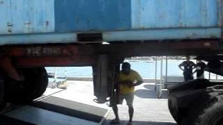 Jagna Operation- Offloading of Empty