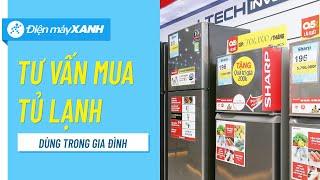 Tư vấn chọn mua tủ lạnh cho gia đình | Điện máy XANH