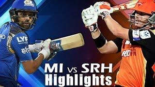 IPL T20: MI vs SRH - 8th May 2016 | Match Highlights | Mumbai Indians vs Sunrisers Hyderabad