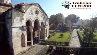 Trabzon havadan görüntüleme Ayasofya camii