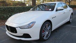 The 2017 Maserati Ghibli got a Nose-job, Not a Facelift.