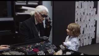 "Mademoiselle C | ""Visiting Karl Lagerfeld"" 