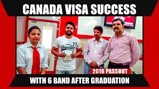 Canada Visa with 6 Band After Graduation