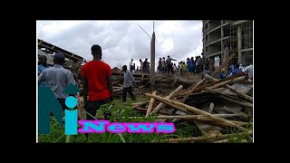 NEMA gives update on Abuja collapsed building