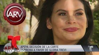 Gloria Trevi ganó demanda a TV Azteca por difamación | Al Rojo Vivo | Telemundo