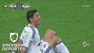Horrible lesión de rodilla de Óscar Ustari en el Atlas vs Tigres | Liga MX