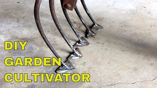 DIY Garden Cultivator~THIS WORKS FANTASTIC!