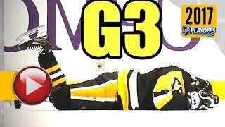 Washington Capitals vs Pittsburgh Penguins. 2017 NHL Playoffs. Round 2. Game 3. 05.01.2017 (HD)