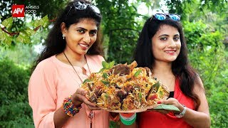 Mutton Biryani Recipe | Hyderabadi Mutton Biryani | Lamb Biryani By Travel Girls