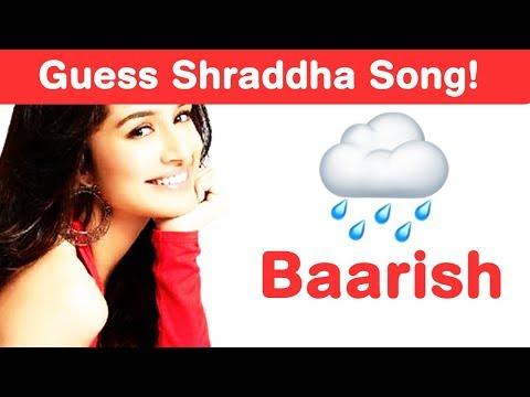 Xxx Mp4 Shraddha Kapoor Songs Emoji Challenge Guess Bollywood Songs 3gp Sex