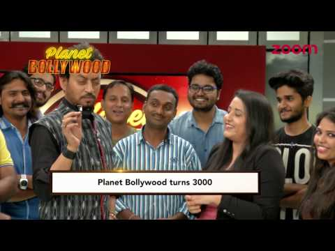 Irrfan Khan Celebrates Planet Bollywood's 3000 Episodes | Exclusive