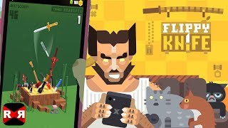 Flippy Knife - Highly Addictive High Score Chaser Game - First Gameplay