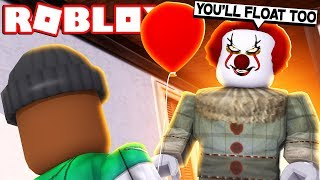 """""""IT"""" THE MOVIE PART 2 IN ROBLOX"""