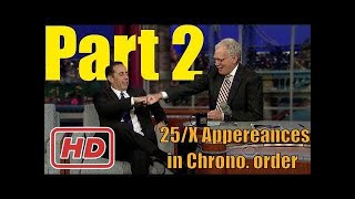 [Talk Shows]Jerry Seinfeld - Letterman is Missing - 25/x Appereances in order Part 2