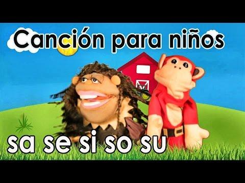Xxx Mp4 Canción Sa Se Si So Su El Mono Sílabo Videos Infantiles Educación Para Niños 3gp Sex