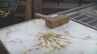 Malho de madeira (como EU fiz o MEU).