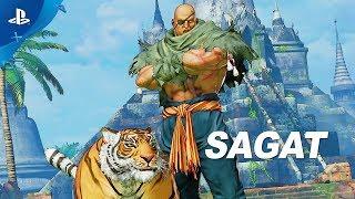 Street Fighter V: Arcade Edition – Sagat Gameplay Trailer | PS4