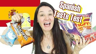 Spanish Candy and Treats Taste Test 2