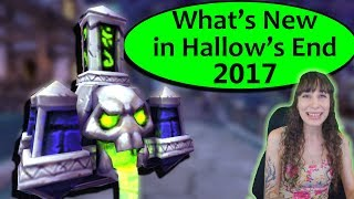 What's New in Hallow's End 2017 in WoW? New Pet, Toys and More!