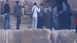 فيديو بالصور زياره ميسي لمصر وزيارته للاهرامات