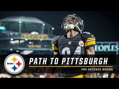 Antonio Brown s Path to Pittsburgh Pittsburgh Steelers