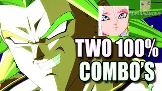 2 100% COMBOS! THE BEST TEAM EVER! - Dragon Ball FighterZ: