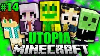 AB in DIE SCHULE?! - Minecraft Utopia #014 [Deutsch/HD]