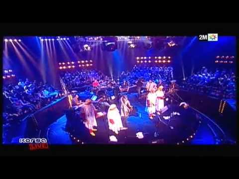 Korsa Live avec Maâlem Hamid EL Kasri et Karim Ziad
