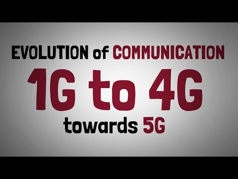 1.2 - From 1G to 4G & Towards 5G - Evolution Of Communication