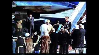 British monarch on a state visit to Iran in March 1961