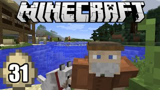 Minecraft Survival Indonesia - Pak Tua Tinggal di Air! (31)