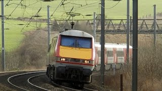 ECML trains January 23rd 2016 part 3