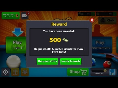 How to Get 500 cash by Clicking a single Link in 8 Ball Pool with Proof - April latest cash trick