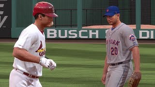 New York Mets vs St. Louis Cardinals  –  MLB 19 The Show 4/19/19
