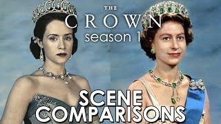 The Crown (2016) season 1 - scene comparisons
