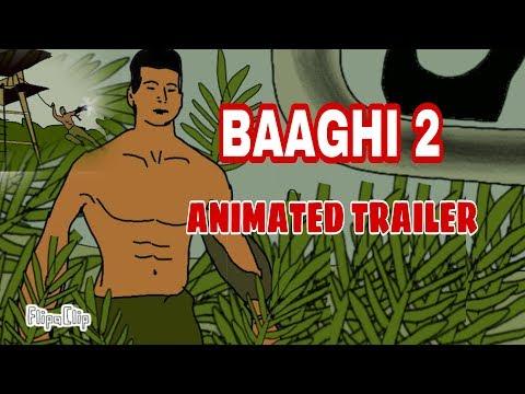 Xxx Mp4 Baaghi 2 Animated Trailer Tiger Shroff Disha Patani By Animated Vines Of Mk 3gp Sex