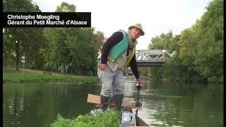 France/ Strasbourg : Un marché flottant