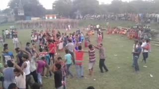 Birpur durga puja dance dhamaka