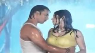 kaleem rain Hot Bhojpuri Apsara hot saree rain song   YouTube